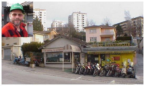 Garage électrauto-moto de Chailly
