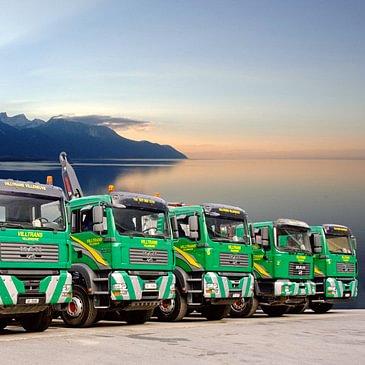 Villtrans Sàrl - notre flotte de camions