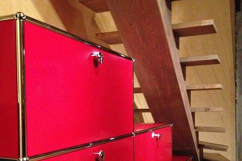 Neuwertig aufbereitete USM Haller Möbel