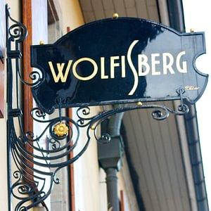 Enseigne Wolfisberg Carouge