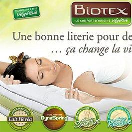 Biotex, les matelas d'origine végétal