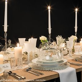 Table nature mariage