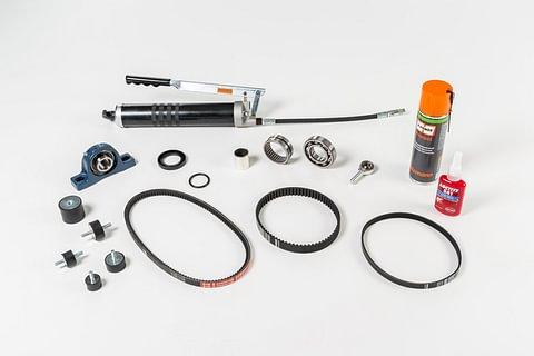 Cinghie di trasmissione, pulegge e manutenzione
