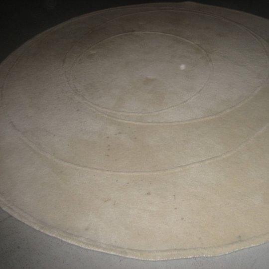 Vorher 1 Teppich weiss
