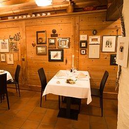 Das gemütlich-rustikale Restaurant