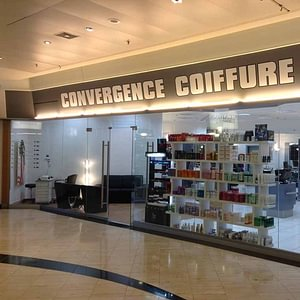 Vitrine - Convergence Coiffure - Carouge