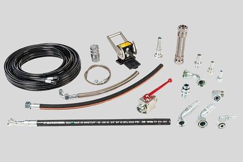 Tecnologia idraulica, tubi flessibili e tubi rigidi