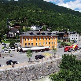 Hotel Restaurant des alpes Luftaufnahme