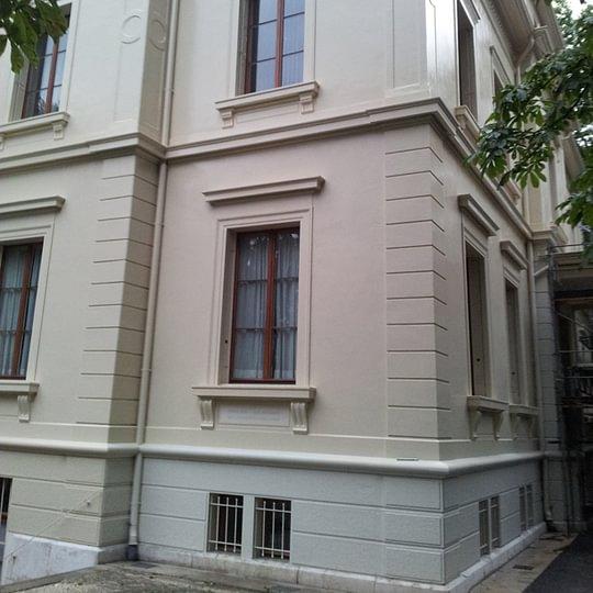 Villa in Basel Fassadenrenovation
