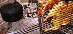 Poulet Grillé au Feu de Bois