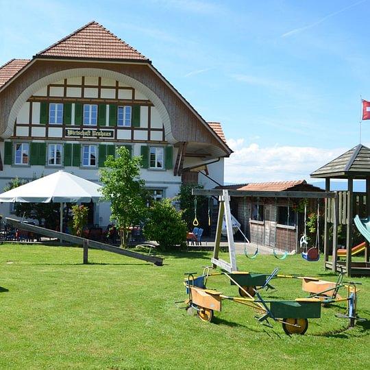Aussenansicht Restaurant Neuhaus