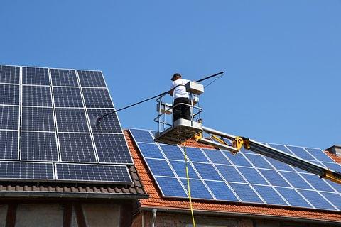 Nettoyage Panneaux photovoltaïques
