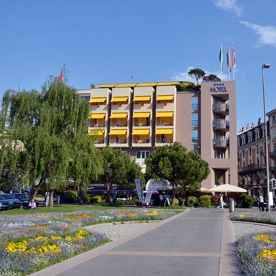 Astra Hotel Vevey - Montreux Riviera Lavaux Suisse