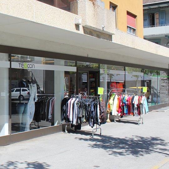 Unser Shop an der Sandmattenstrasse 6 in Brig