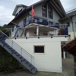 Metalltreppe, Treppen- und Balkongeländer