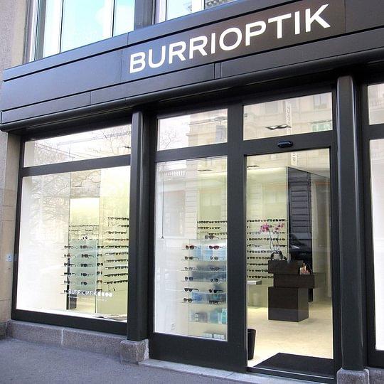 Aussenansicht Burri Optik Bellevue