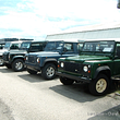 Atelier Land Rover