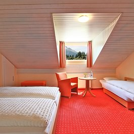 DZ mit Zusatzbett Hotel des alpes Fiesch