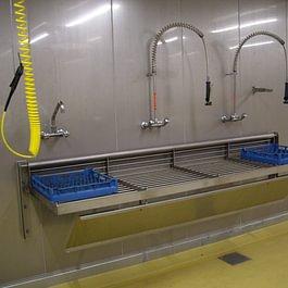 Waschstation