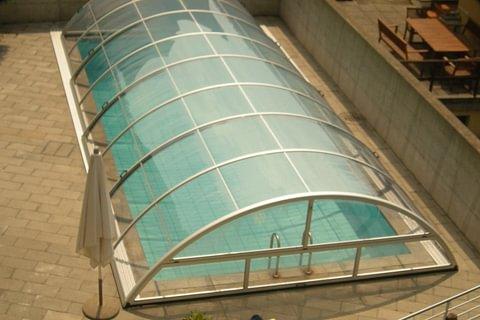 Copertura piscina telescopica Aquacomet