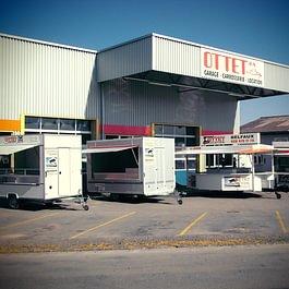 Caravane-stand, Cuisine et bar mobile