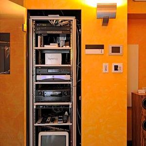 Unser Multiroom und Netzwerk-Rack