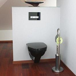 Réalisation d'une salle de bain dans des combles