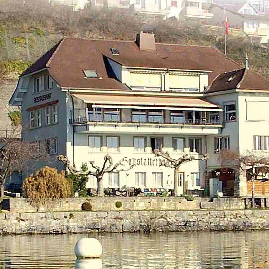 Gottstatterhaus vom See aus