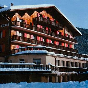 L'hôtel en hiver