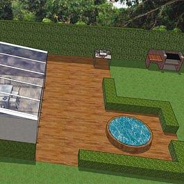Image 3D Orangerie et véranda
