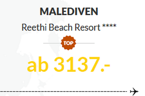 Malediven, Reethi Beach Resort ****