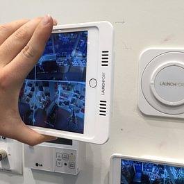 Videoüberwachung auf Ipad