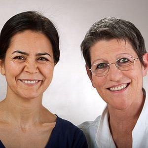 Faride und Verena, die Therapeutinnen
