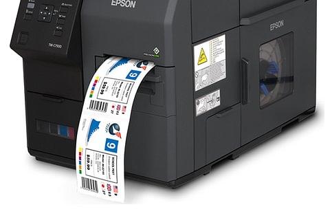 Epson ColorWorks 7500 Farbetikettendrucker