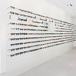 Ladenansicht Sonnenbrillen