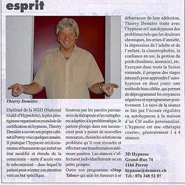 3D Hypnose - Thierry Demière - Journal la Côte