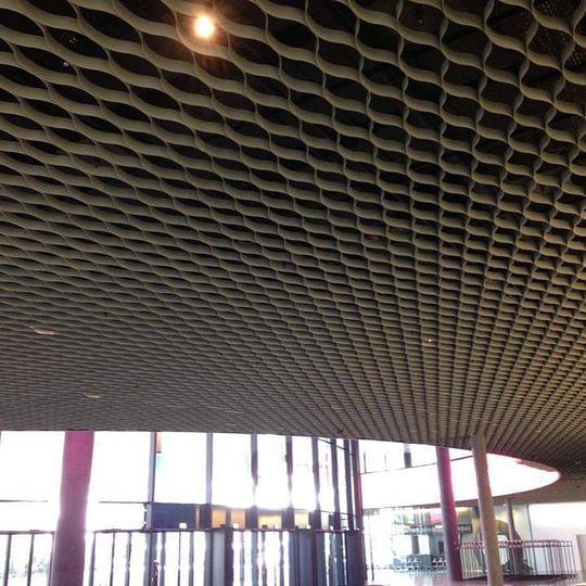 Messe Basel Foyer Spezialdecken