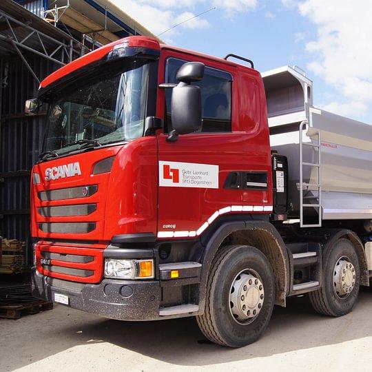 5-Achs-Kipper Scania