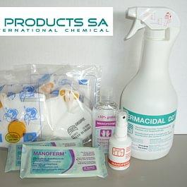 Hygiene-set zur Vorbeugung von Pandemien