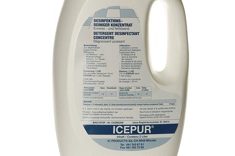 Icepur - Desinfektions-Reiniger Konzentrat
