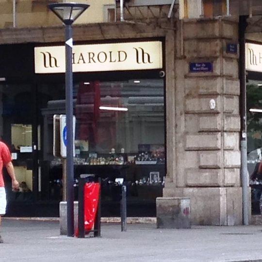 Harold W: magasin bijoux montres Genève