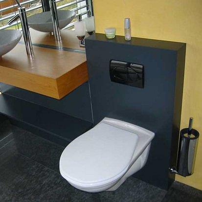 neue toiletten-einrichtung