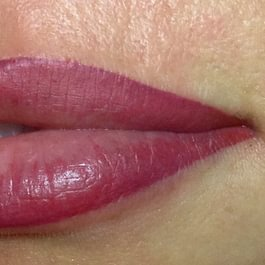 Maquillage permanant bouche APRES