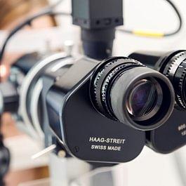Augen-Optometrie