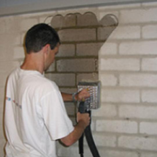 Hochdruckreinigung mit geschlossenem Abwassersystem
