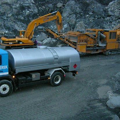 Livraisons Diesel pour les machines sur chantiers + c/o les agriculteurs
