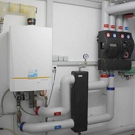 Chaudière à gaz pour un immeuble