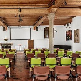 Salle de séminaire : Grande salle (200 pers.)
