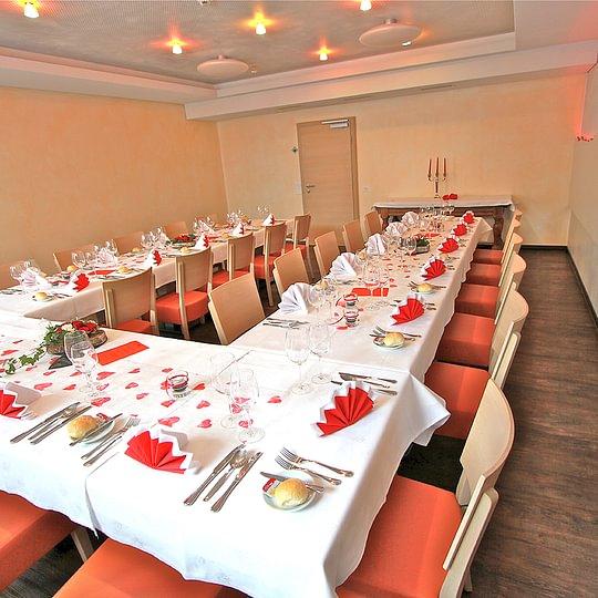Bankett- und Konferenzsaal Restaurant des alpes