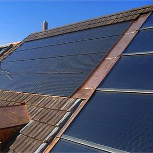 Solaranlagen für Warmwasser und Strom, Basel